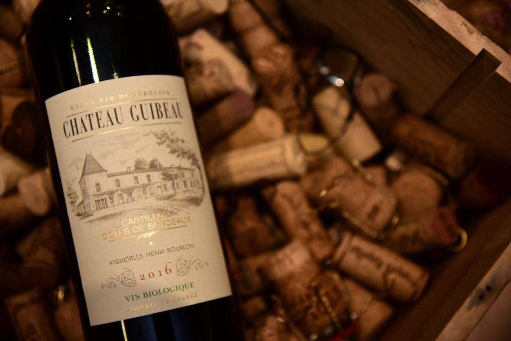 Chateau Guibeau Castillon Cotes de Bordeaux 2016 紅酒